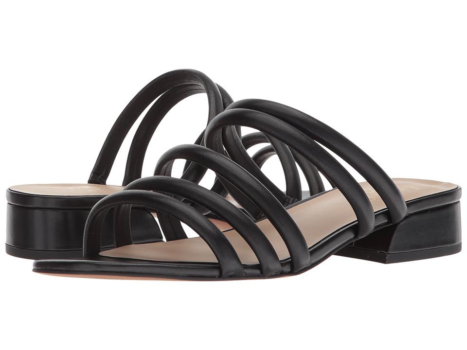 Franco Sarto Fitz (Black Nappa Leather) Women's Shoes