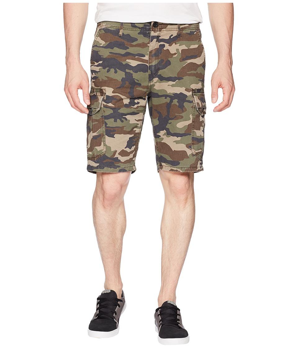 ONeill - Campbell Cargo Walkshorts (Camo) Mens Shorts