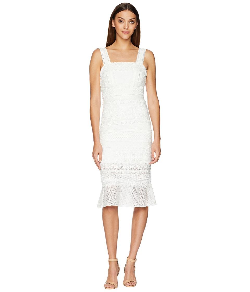Nicole Miller - Trumpet Dress (Ivory) Womens Dress