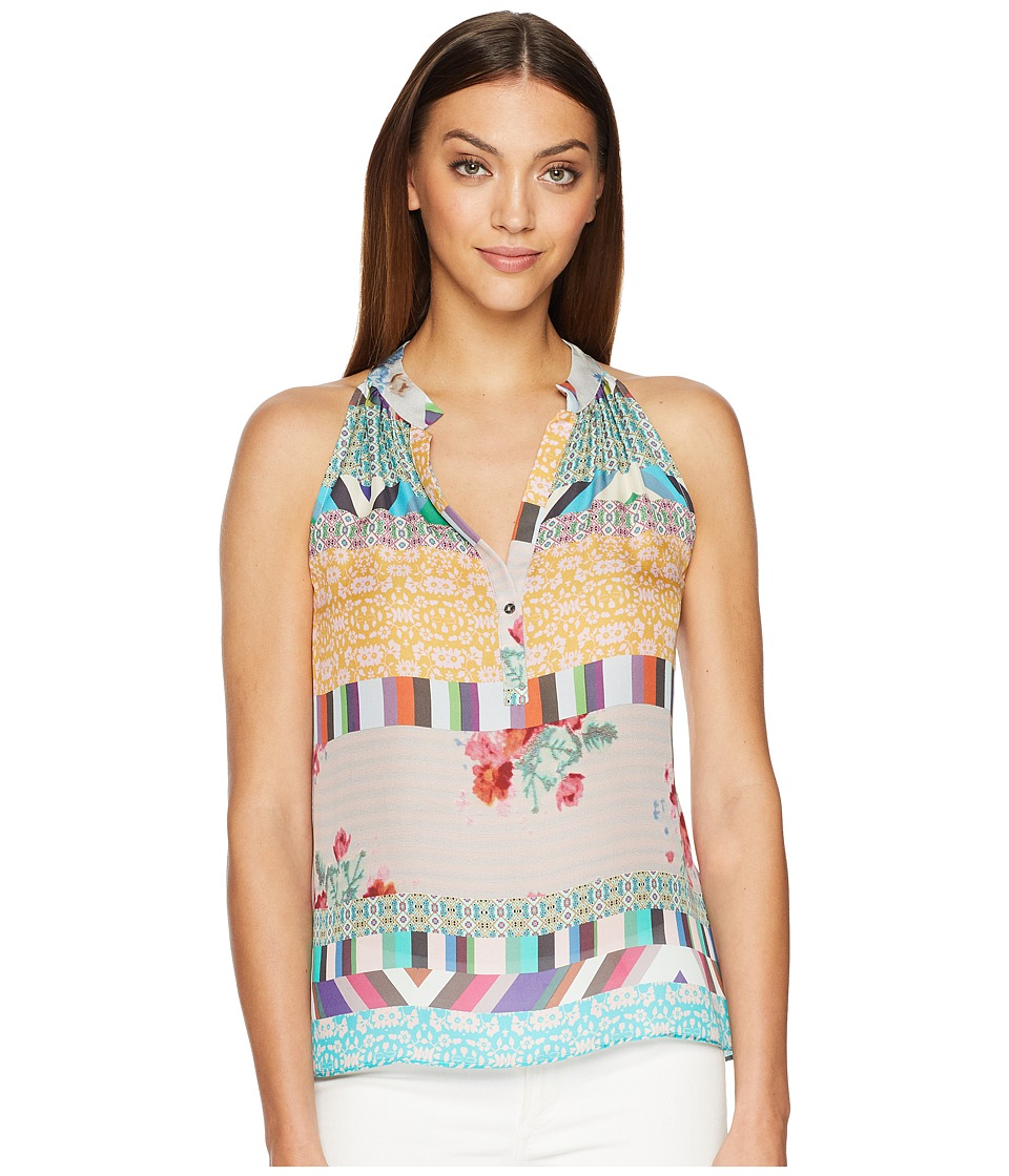 Nicole Miller - Luca Blouse (Multicolored) Womens Blouse