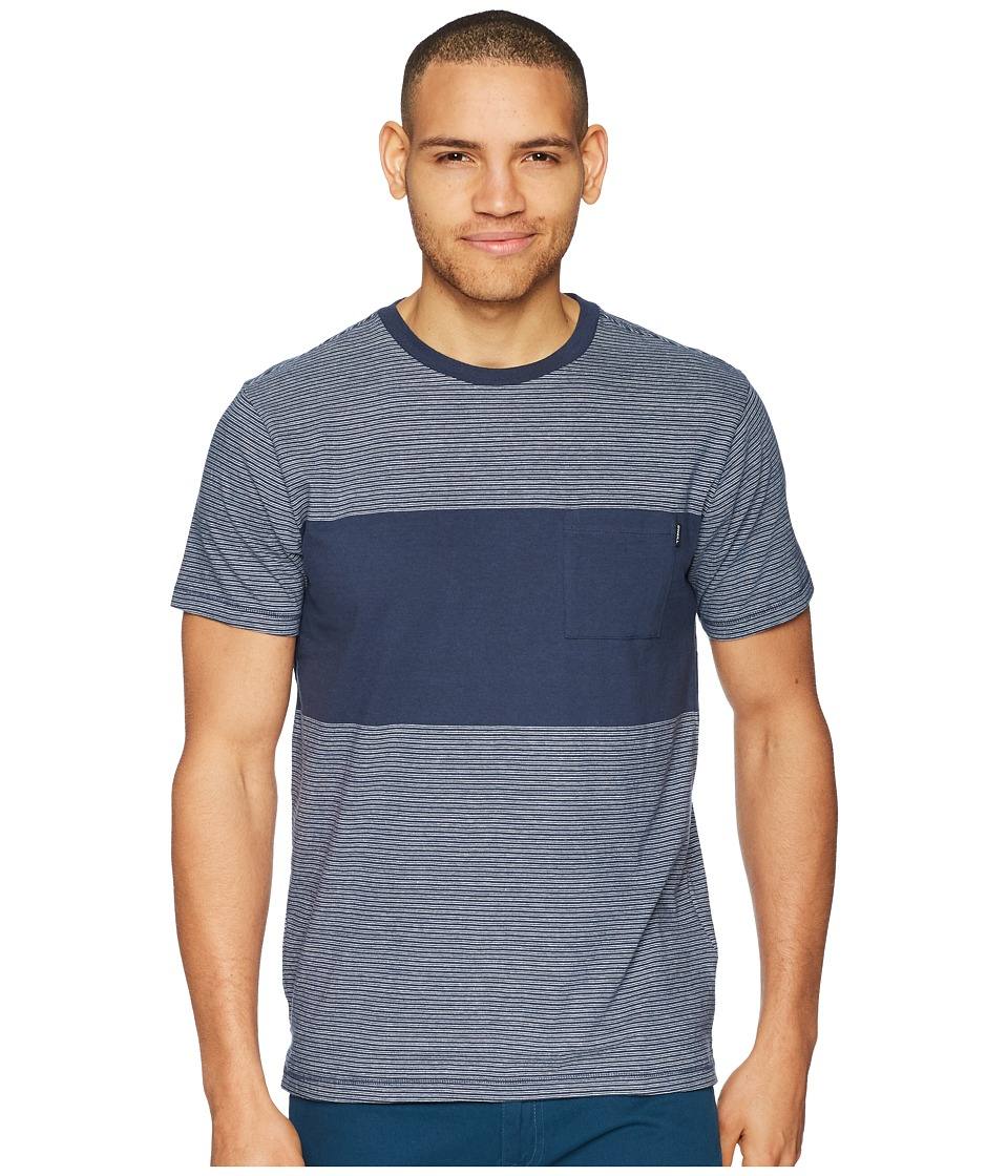 ONeill - Bernardo Crew Knit Top (Navy) Mens Clothing
