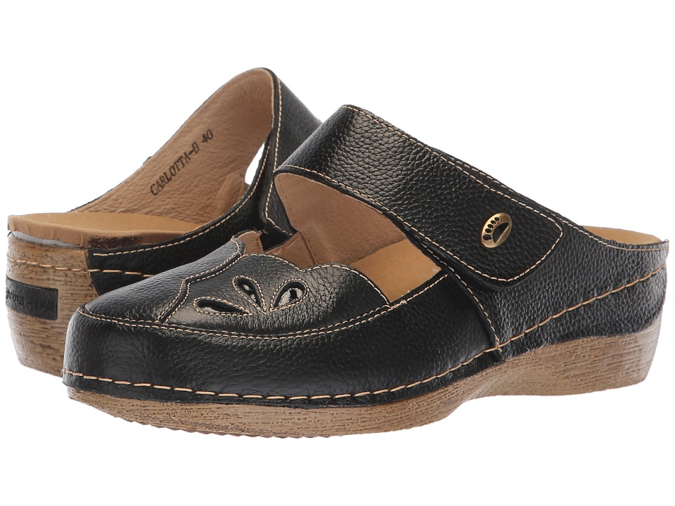 Spring Step Carlotta (Black) Women's Shoes