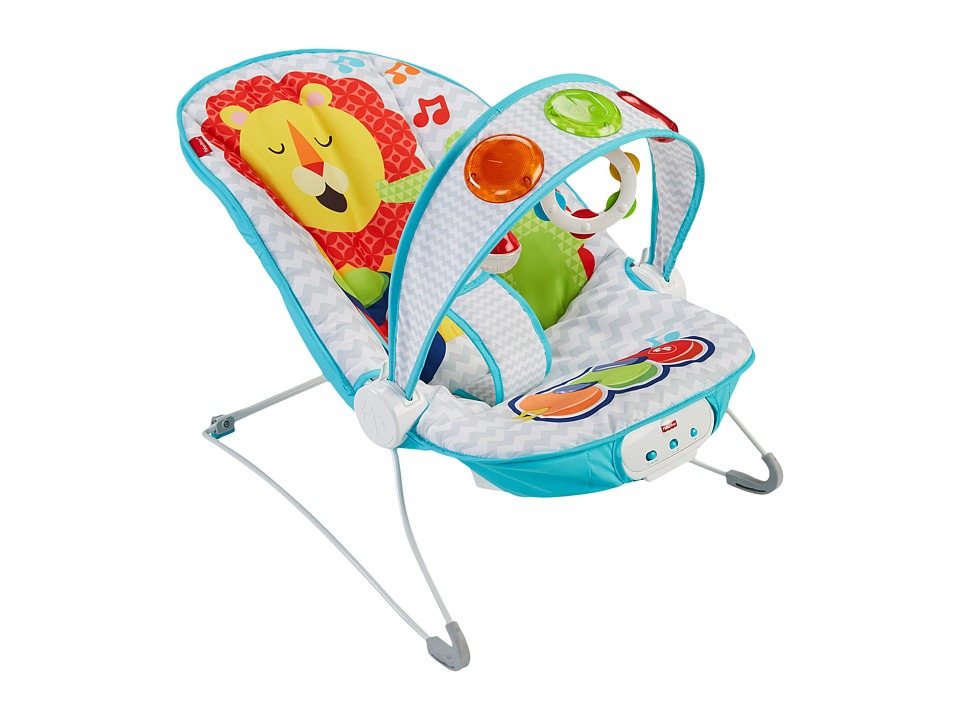 Fisher Price - Kick n Playtm Musical Bouncer (Lion) Accessories Travel