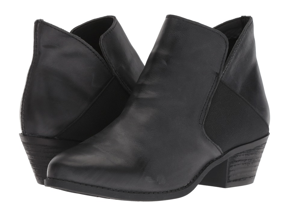 Me Too Zada (Black Leather) Women's  Boots