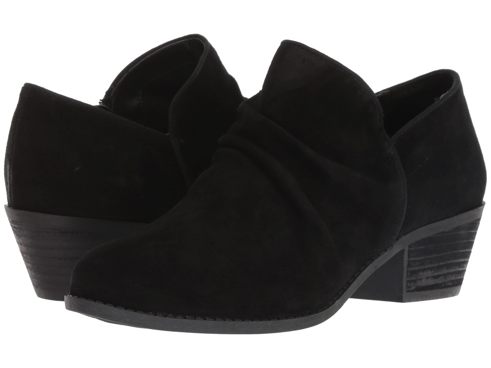 Me Too Zula (Black Suede) Women's Shoes
