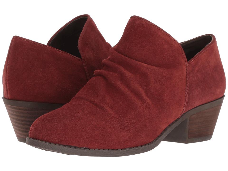 Me Too Zula (Rust Suede) Women's Shoes