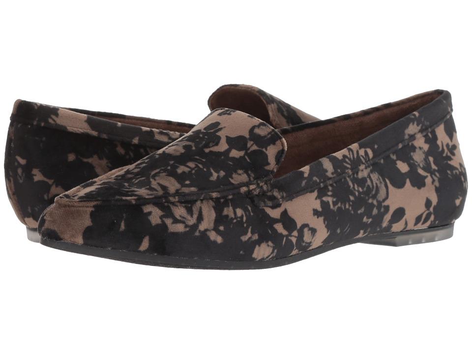Me Too Audra (Khaki Floral Velvet) Women's Shoes