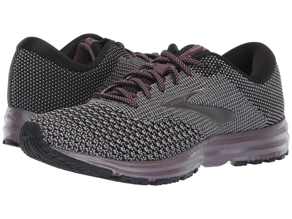 Brooks Revel 2 (Black/Grey/Arctic Dusk) Women's Running Shoes