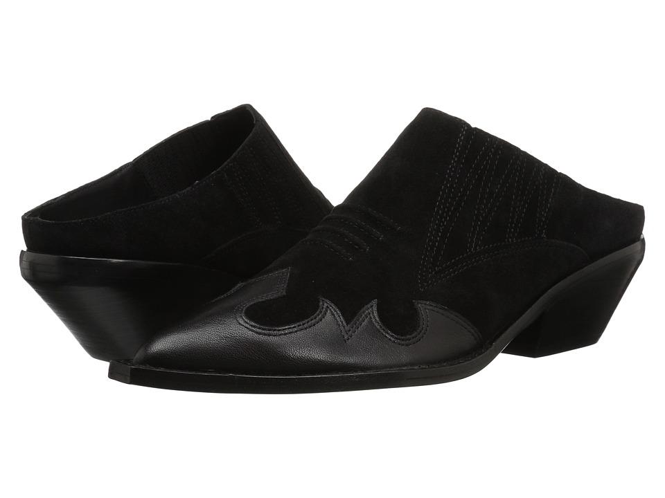Sigerson Morrison Tabitha (Black Suede) Women's Shoes