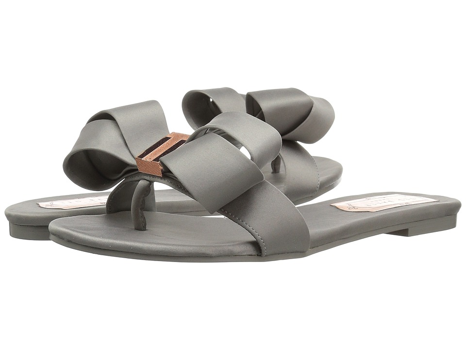 Ted Baker Beauita (Light Grey Textile) Sandals