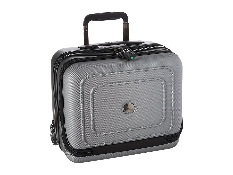 Delsey Cruise Lite Hardside 2-Wheel Under-Seater (Platinum) Luggage