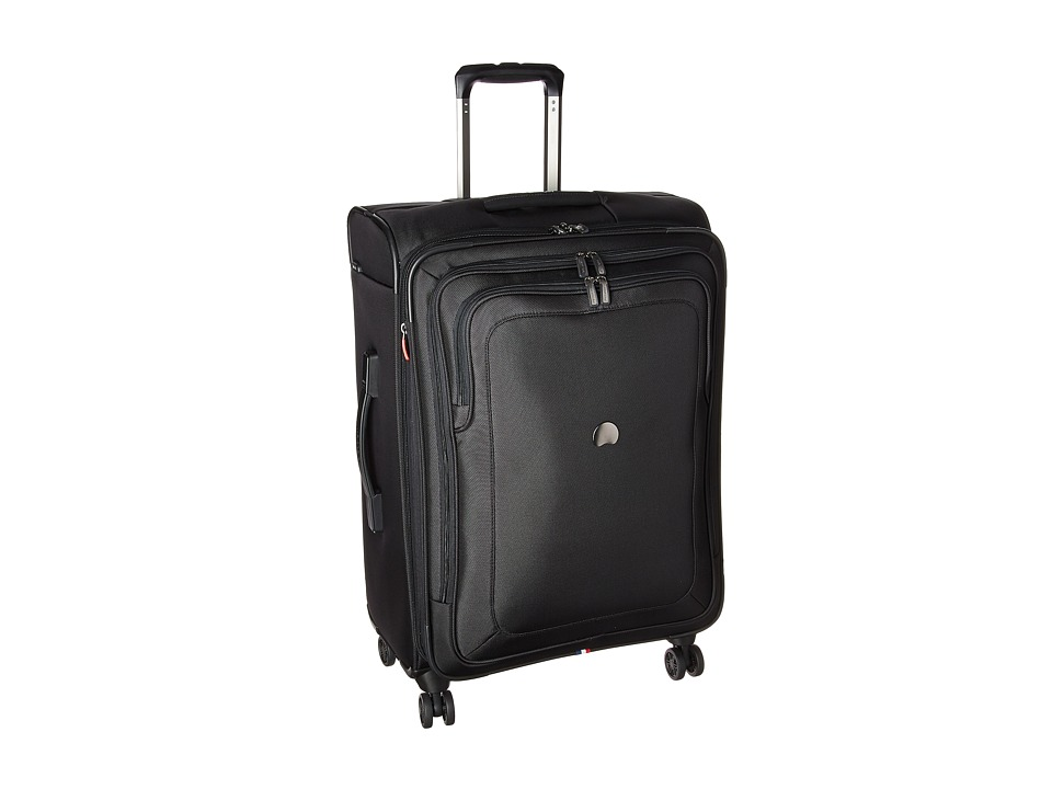 Delsey - Cruise Lite Softside 25 Exp. Spinner Suiter Trolley (Black) Luggage