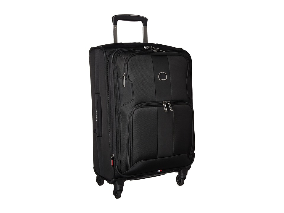 Delsey - Sky Max Expandable Spinner Carry-On (Black) Luggage