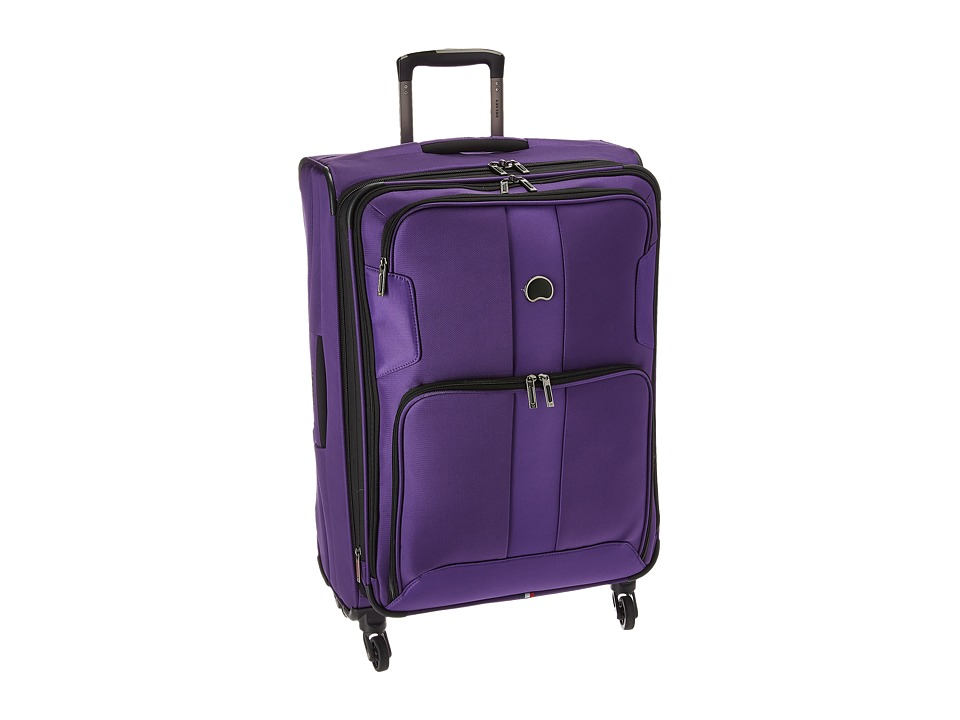 Delsey - Sky Max Expandable 25 Spinner Upright (Purple) Luggage