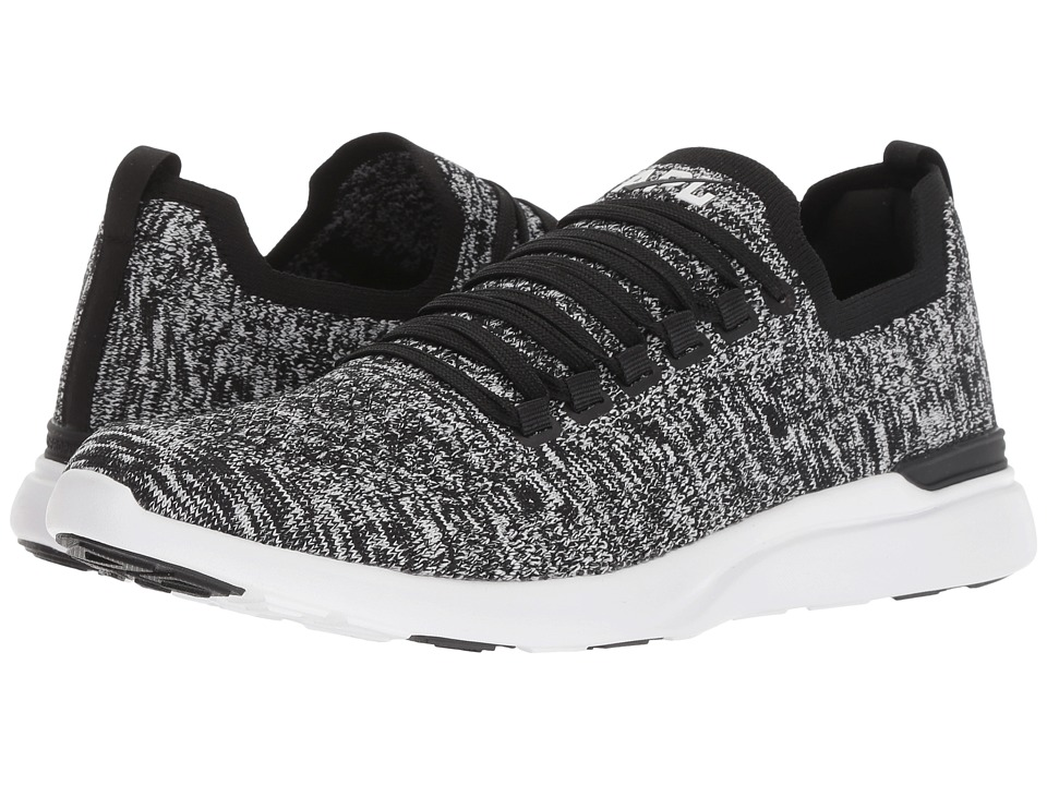 Athletic Propulsion Labs (APL) Techloom Breeze (Black/White/Melange) Women's Running Shoes