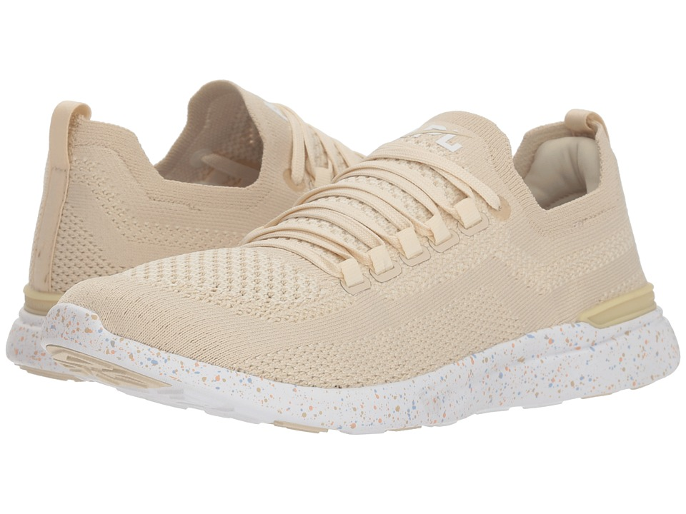 Athletic Propulsion Labs (APL) Techloom Breeze (Parchment/Blush/Sky) Women's Running Shoes