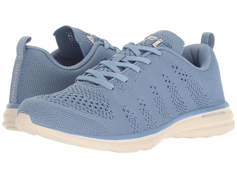 Athletic Propulsion Labs (APL) Techloom Pro (Grey Denim/Parchment) Women's Shoes