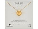 Dogeared Carpe Diem, Slide Through Compass Necklace
