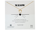 Dogeared Meow, Cat Head Necklace
