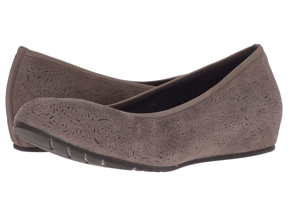 Vaneli Pamie (Taupe Rory Suede) Flats