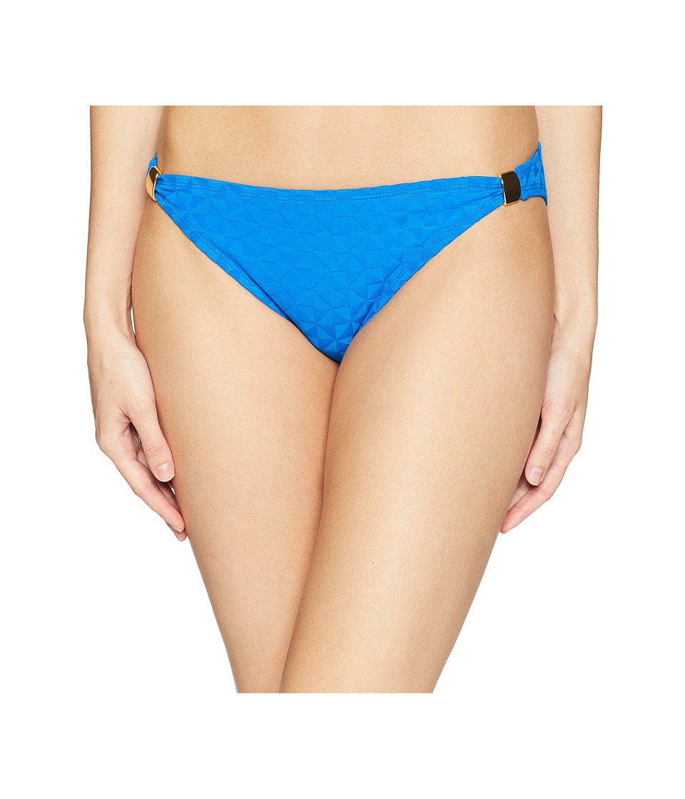 Bleu Rod Beattie - Hipster w/ Gold Hardware (Ocean Tropic Bleu) Womens Swimwear