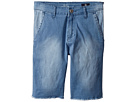 AG Adriano Goldschmied Kids Washed Chambray Chino Shorts (Big Kids)