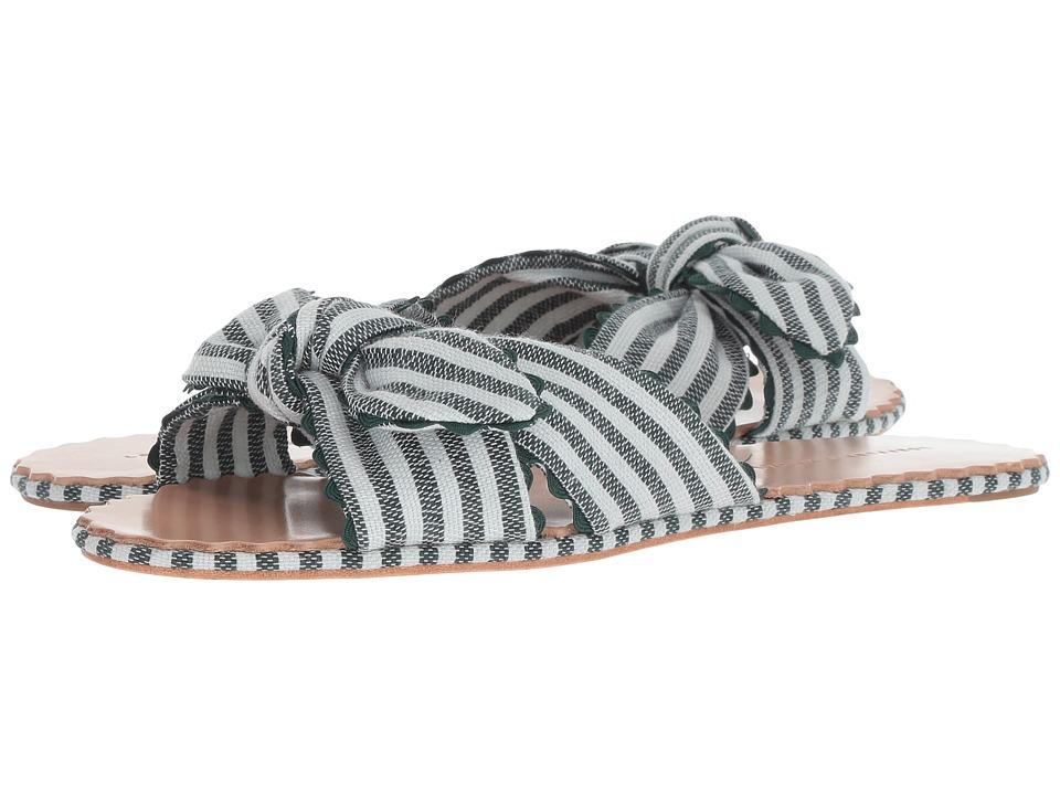 Loeffler Randall Shirley (Forestlightblue/Forest) Women's Shoes