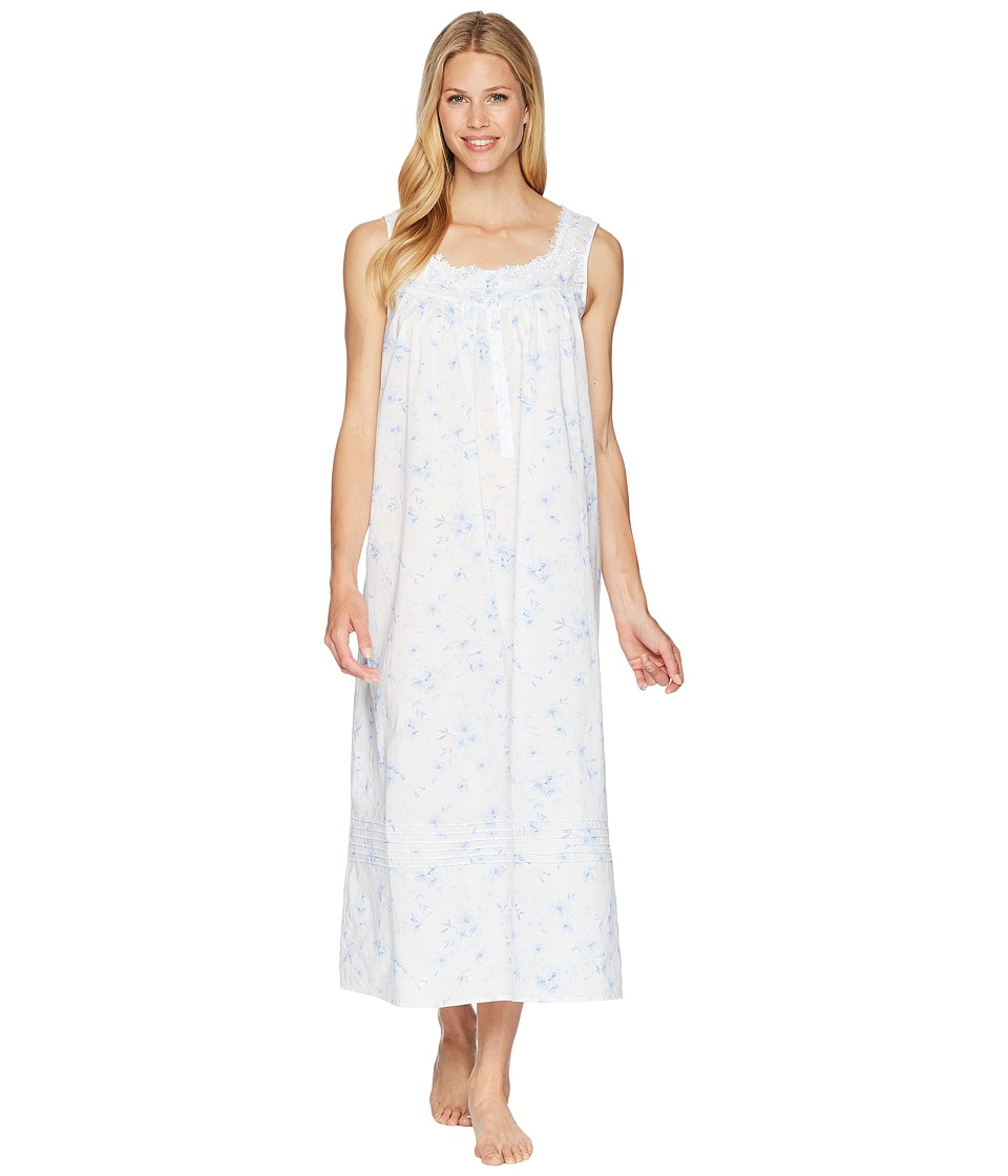 Eileen West 5016195 Solid Cotton Lawn Long Sleeve Ballet Nightgown ...