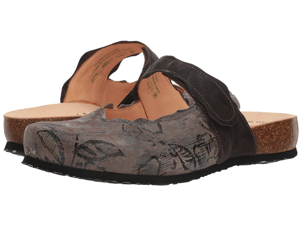 Think! Julia - 83345 (Taupe) Clogs