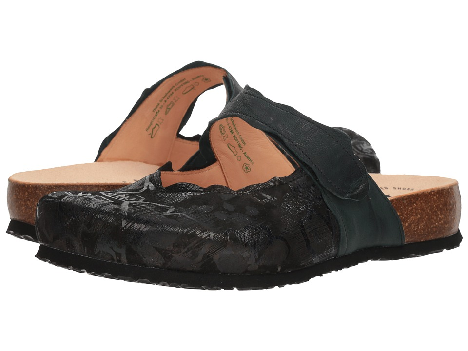 Think! Julia - 83345 (Black) Clogs