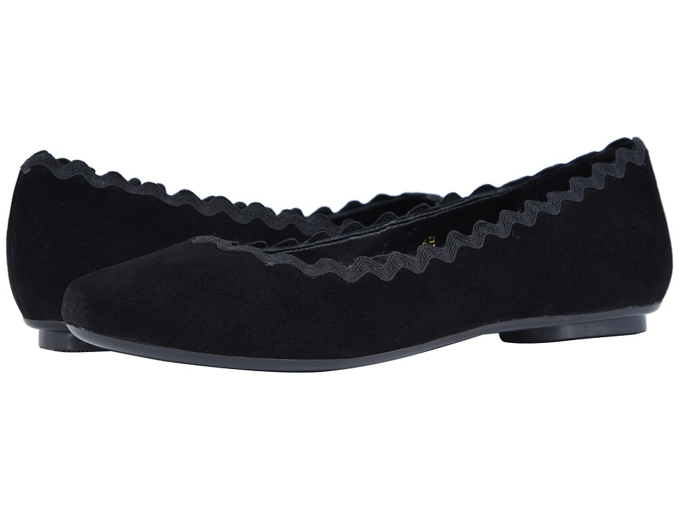 Vaneli Saimi (Black Suede/Black Passamentry) Slip-On Shoes