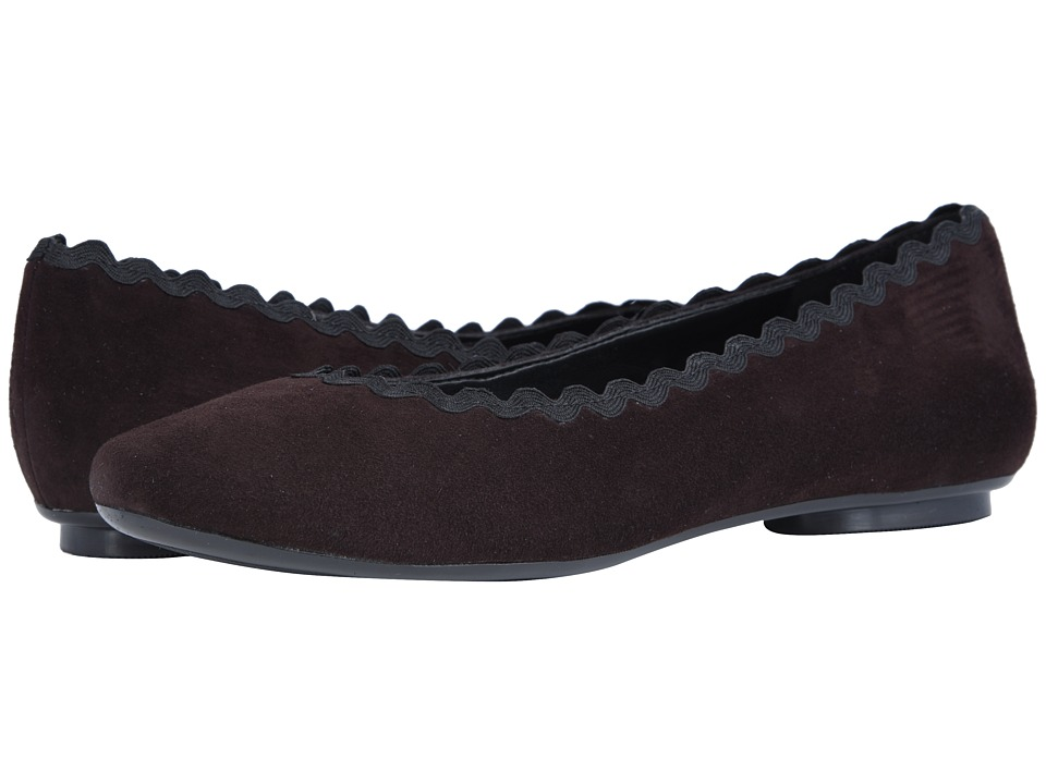 Vaneli Saimi (Tmoro Suede/Black Passamentry) Slip-On Shoes
