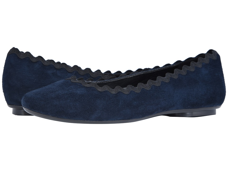 Vaneli Saimi (Navy Suede/Black Passamentry) Slip-On Shoes