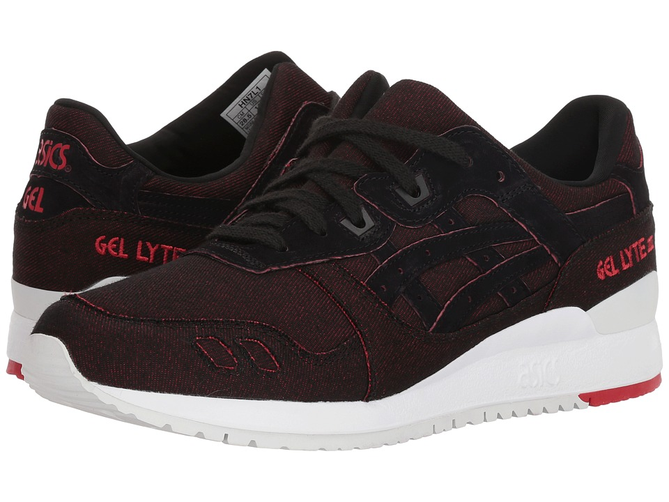 ASICS Tiger - Gel-Lyte(r) III (Black/Black 6) Mens Shoes