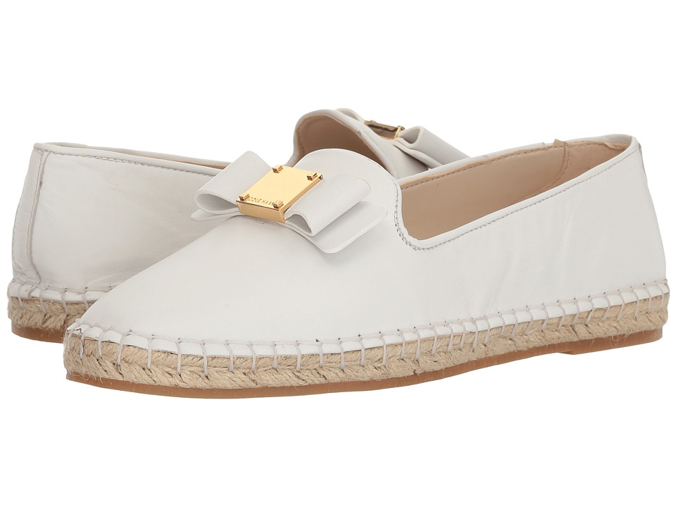 Cole Haan - Tali Bow Espadrille (White Leather) Womens Shoes