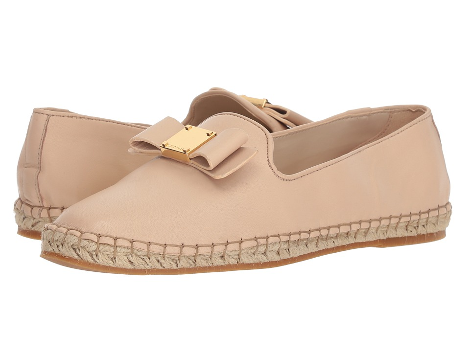 Cole Haan Tali Bow Espadrille (Nude Leather) Women's Shoes