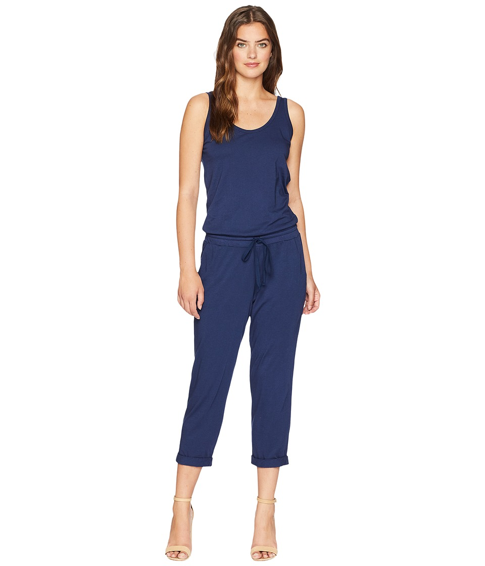 Michael Stars - Cotton Modal Tank Jumpsuit (Passport) Womens Jumpsuit & Rompers One Piece
