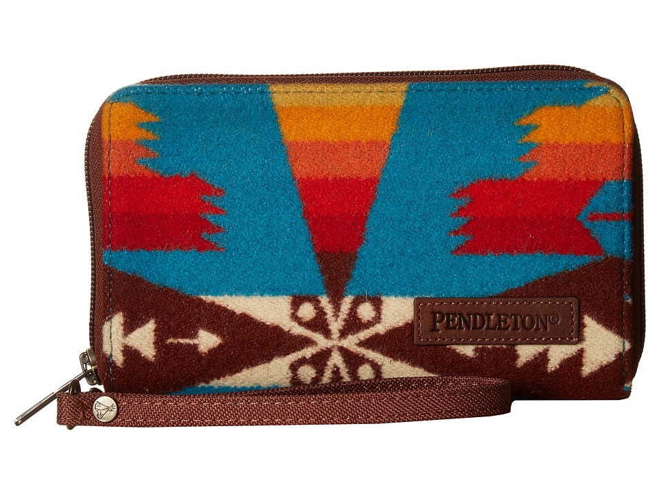 Pendleton - Smart Phone Wallet (Tucson Turquoise) Wallet Handbags