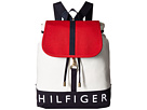 Tommy Hilfiger Sporty Signature Canvas Backpack