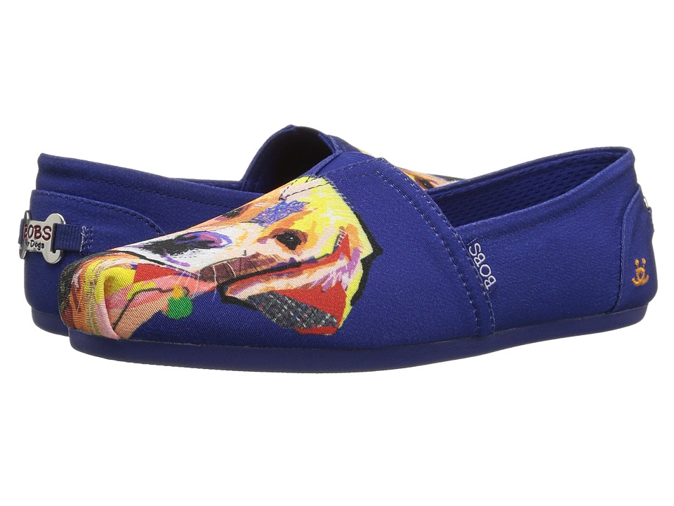 BOBS from SKECHERS Bobs Plush - Lovely Lab (Royal) Flats