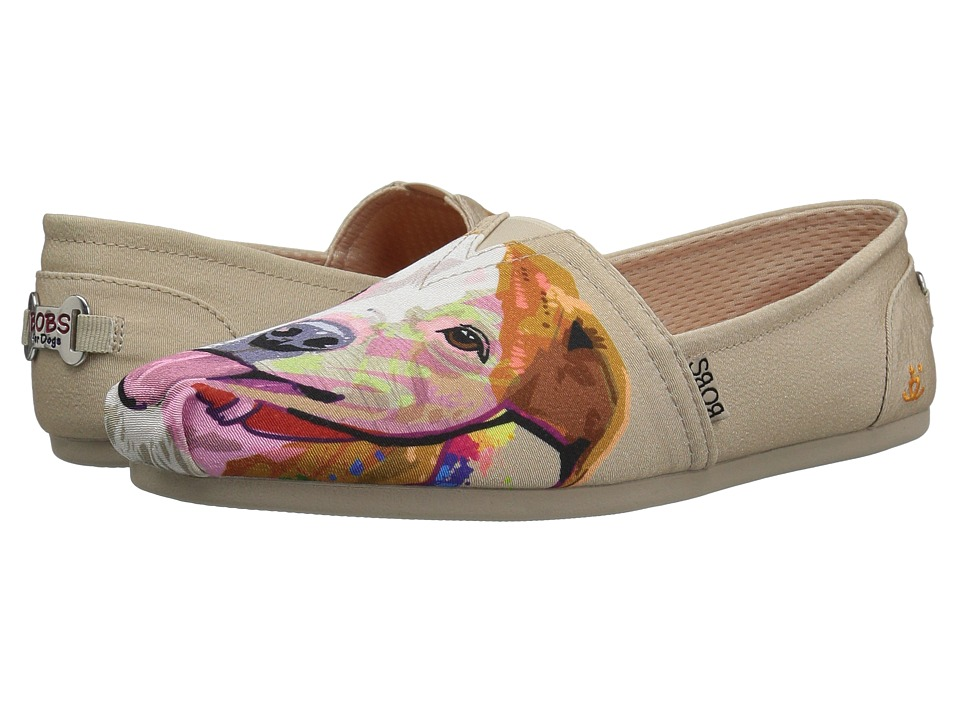 BOBS from SKECHERS Bobs Plush - Pitty Love (Natural) Flats
