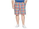Nautica Big & Tall Big Tall Plaid Shorts