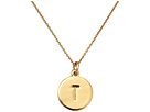 Kate Spade New York Kate Spade Pendants T Pendant Necklace