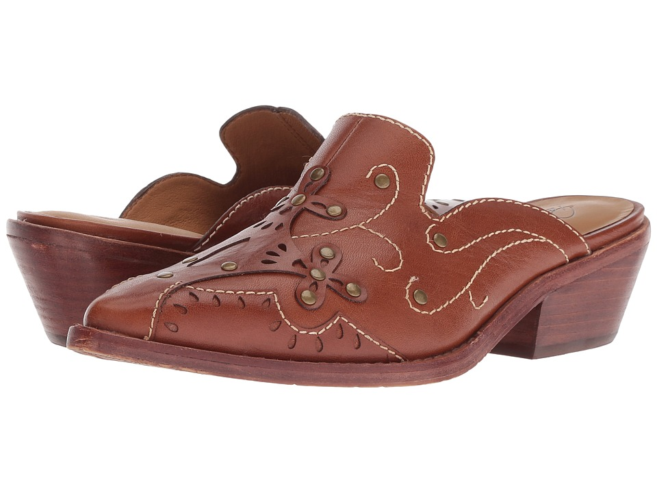 Patricia Nash - Benedetta (Tan Leather) Womens Clog Shoes