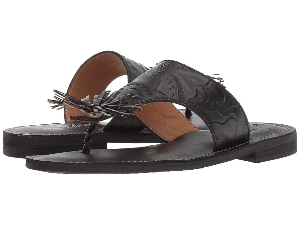 Patricia Nash - Franca (Black Tooled Leather) Womens Sandals