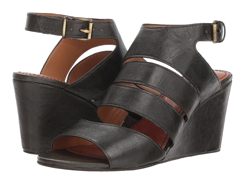 Patricia Nash Korina (Dark Khaki Leather) Wedges
