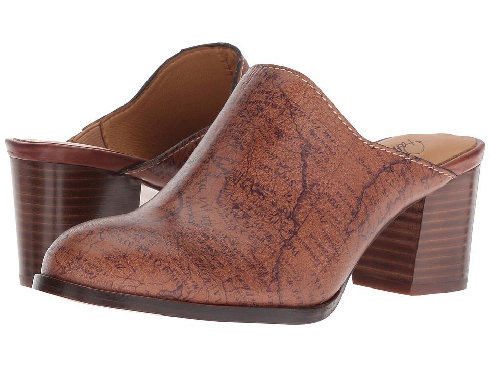 Patricia Nash - Nicia (Map Print) Womens Clog Shoes
