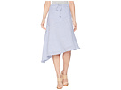 LAUREN Ralph Lauren LAUREN Ralph Lauren Asymmetrical Cotton Midi Skirt