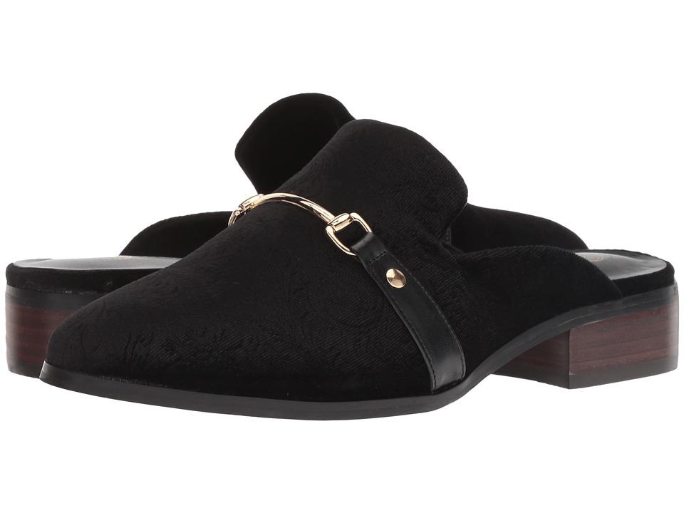 Bella-Vita Babs II (Black Embossed Velvet) Women's  Boots