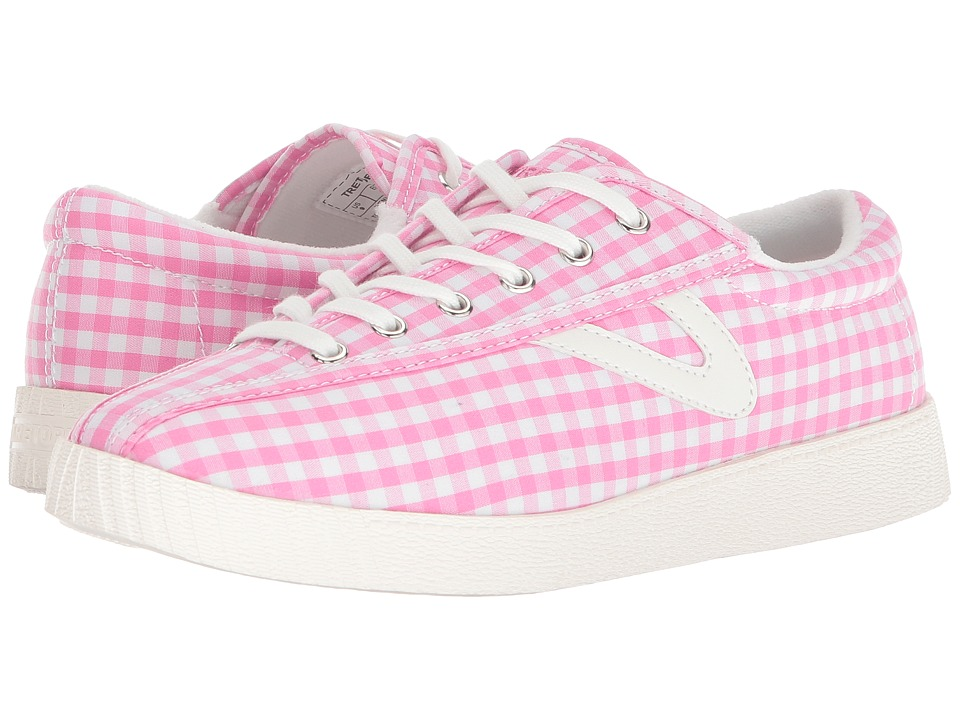 Tretorn Nylite 4 Plus (Pink/White) Women's Shoes